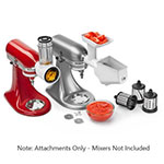 KitchenAid KSMFPPA Mixer Attachment Pack - Rotor Slicer, Food Grinder and Fruit/Veg Strainer