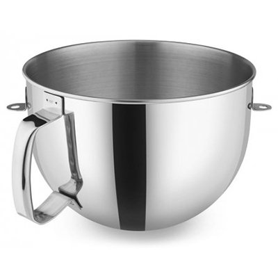 KitchenAid KA7QBOWL Stainless Steel Mixing Bowl w/ Handle...