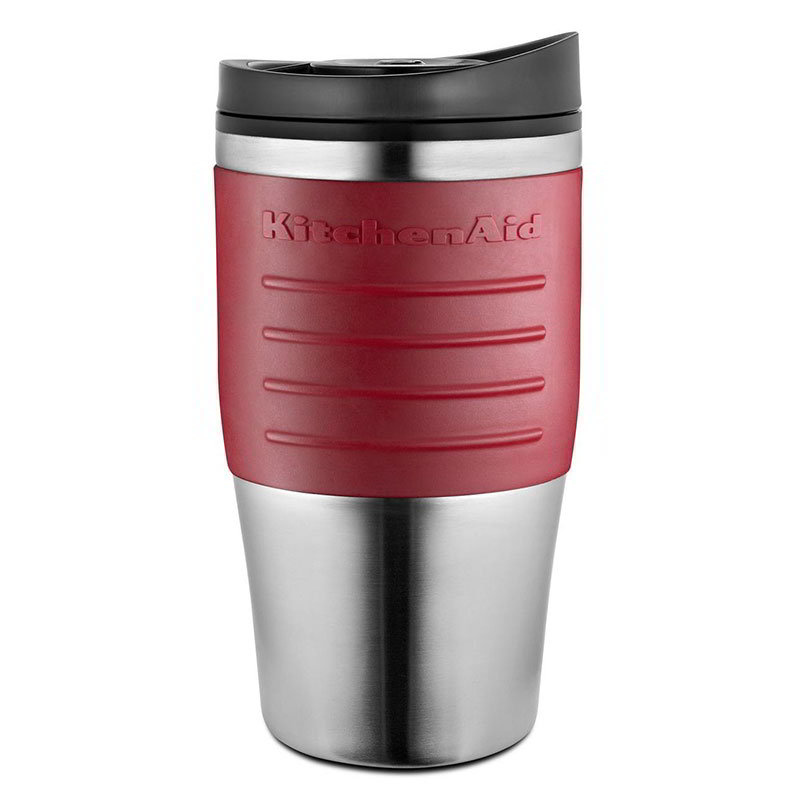 KitchenAid KCM0402TMER 18-oz Replacement Travel Mug w/ Lid, Empire Red