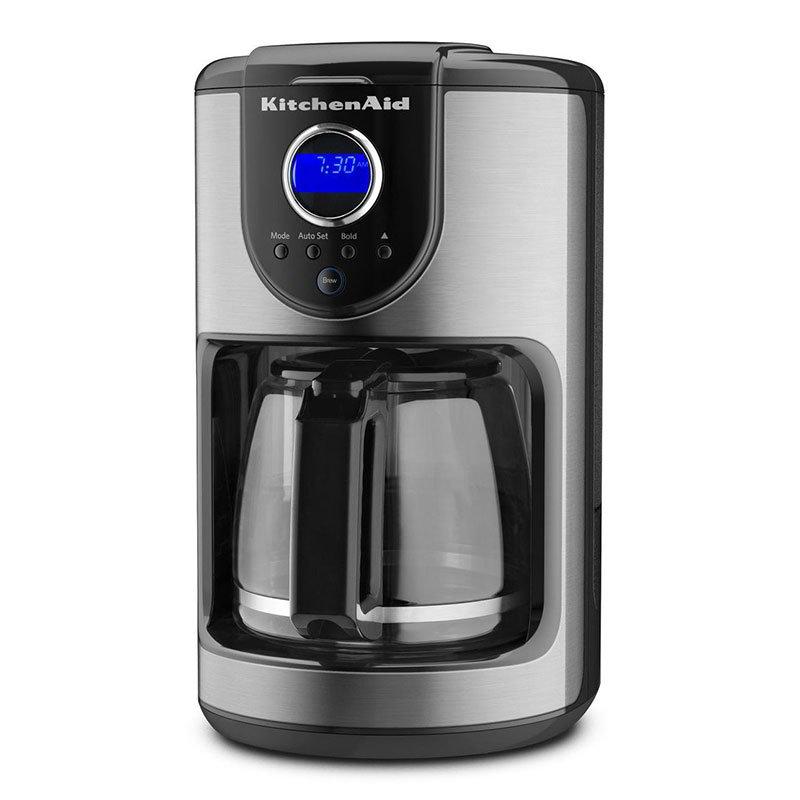 KitchenAid KCM111OB 12-cup Glass Carafe Coffee Maker - Onyx Black