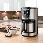 KitchenAid KCM112OB 10-Cup Thermal Carafe Coffee Maker w/ Auto Shut Off, Onyx Black