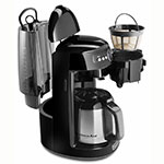 KitchenAid KCM1203OB 12-cup Coffee Maker w/Glass Carafe, Programmable, Onyx Black