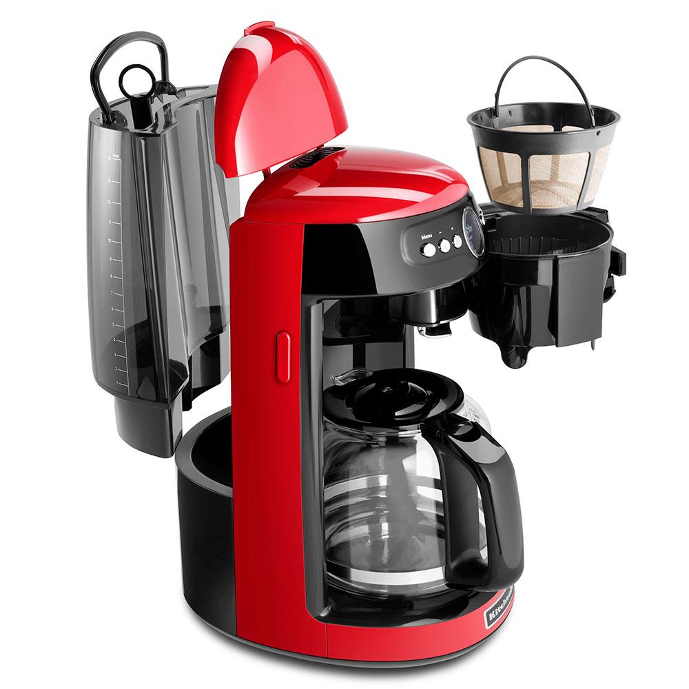 KitchenAid KCM1402ER KitchenAid® 14-cup Drip Coffee Maker w/ Programmable Settings, Red