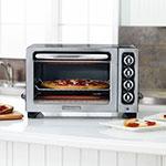 "KitchenAid KCO222OB 12"" Countertop Oven w/ Bake, Broil & Roast, Onyx Black"