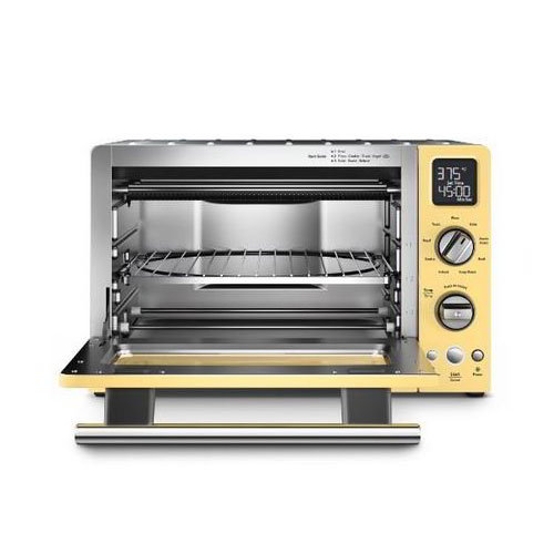 "KitchenAid KCO275MY 12"" Countertop Convection Oven w/ (9) Pre-Programmed Functions, Majestic Yellow"