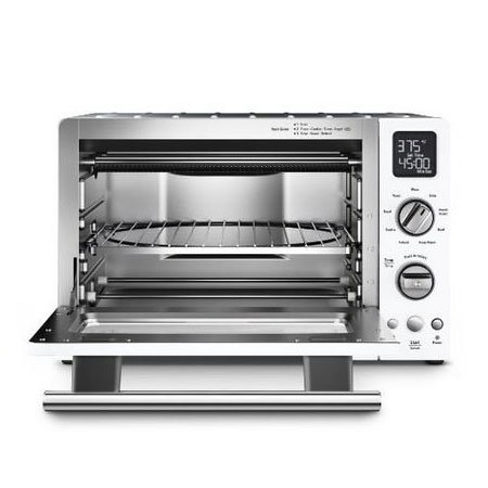 "KitchenAid KCO275WH 12"" Countertop Convection Oven w/ (9) Pre-Programmed Functions, White"