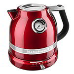 Kitchenaid KEK1522CA Pro Line Electric Kettle - 1.5-Liter, Temperature Control, Candy Apple Red