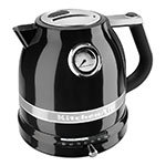Kitchenaid KEK1522OB Pro Line Electric Kettle - 1.5-Liter, Temperature Control, Onyx Black