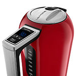 KitchenAid KEK1722ER 1.7L Electric Kettle w/ Cup Markings & Digital Temperature Display, Empire Red
