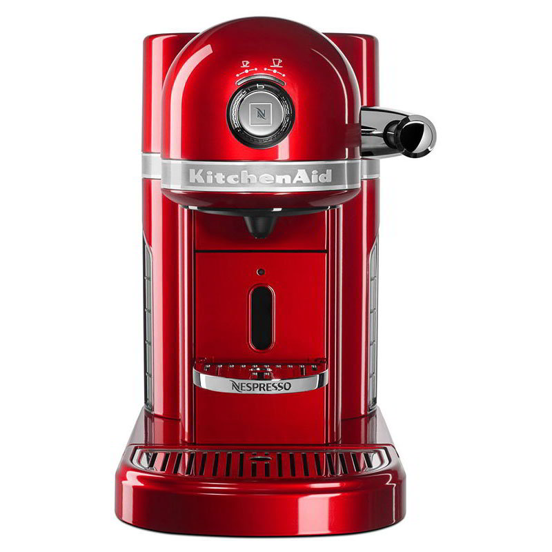 KitchenAid KES0503CA0 Nespresso® 1.3L Espresso Coffee Maker w/ Programmable Settings, Red