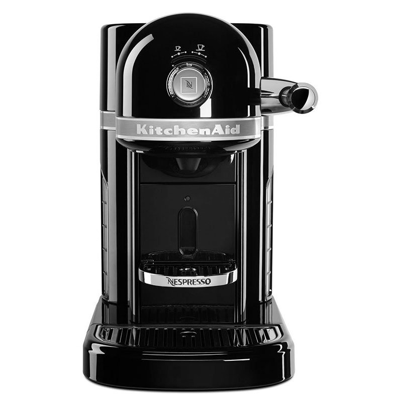 KitchenAid KES0503OB0 Nespresso® 1.3L Espresso Coffee Maker w/ Programmable Settings, Black