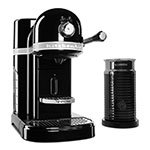 KitchenAid KES0504OB0 Nespresso® Machine w/ Milk Frother, 6 Brew Strength Settings, Onyx Black