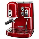 Kitchenaid KES2102CA Pro Line Dual-Boiler Espresso Maker - Candy Apple Red