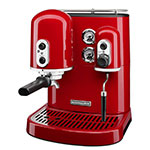 KitchenAid KES2102ER Pro Line Series 7.5-cup Espresso Coffee Maker w/ Milk Frother, Red