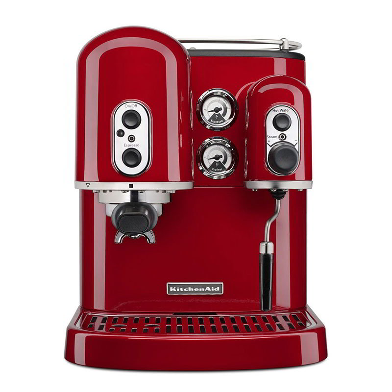 KitchenAid KES2102ER Pro Line Dual-Boiler Espresso Maker - Empire Red