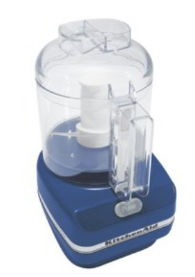 KitchenAid KFC3100BW 3 Cup Chef's Chopper Series Food Chopper, Blue Willow