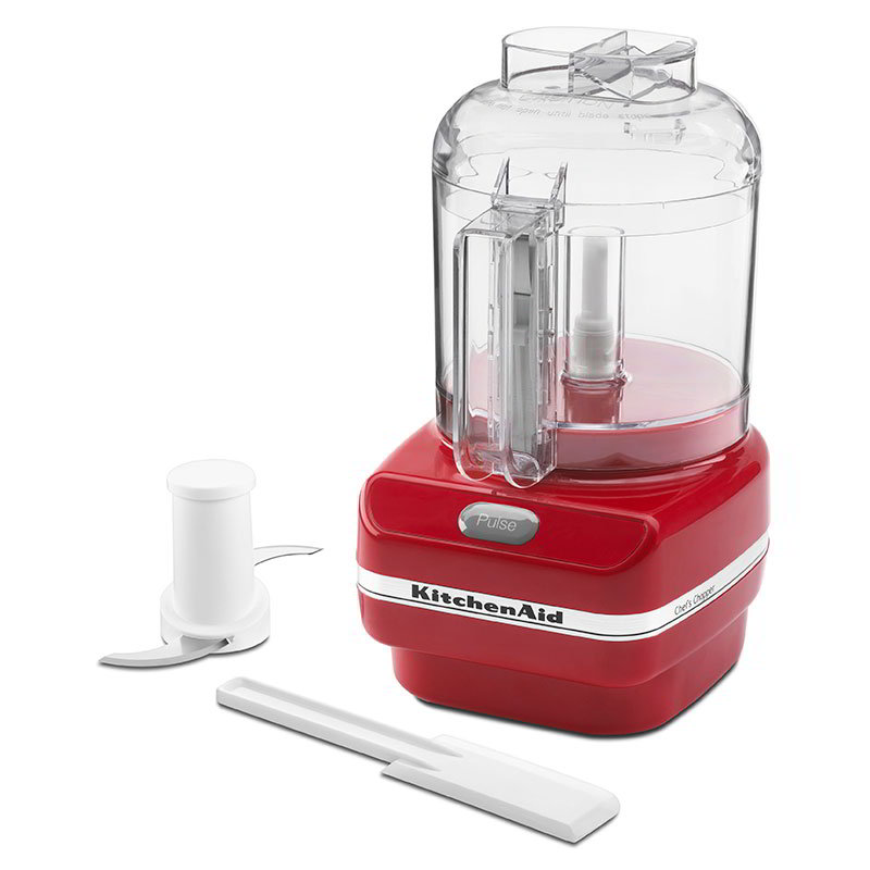 Kitchenaid kfc3100er 3 cup chef 39 s chopper series food chopper empire red - Kitchenaid chefs chopper ...