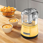 KitchenAid KFC3511MY 2-Speed Food Chopper w/ 3.5-cup Capacity, Chopper Bowl & Lid, Majestic Yellow