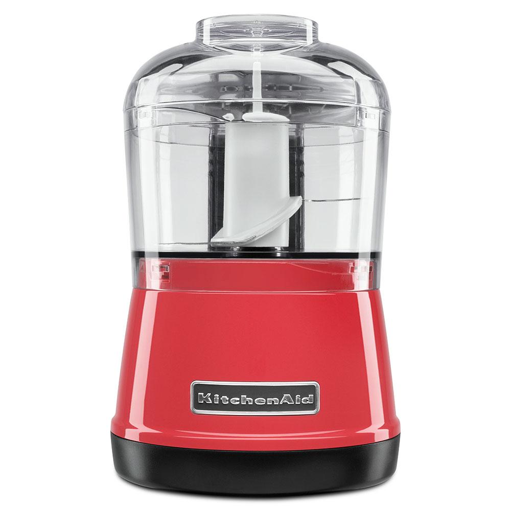 KitchenAid KFC3511WM 2-Speed Food Chopper w/ 3.5-cup Capacity, Chopper Bowl & Lid, Watermelon