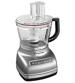 KitchenAid KFP1466CU 3-Speed Food Processor w/ 14-Cup Capacity, Contour Silver