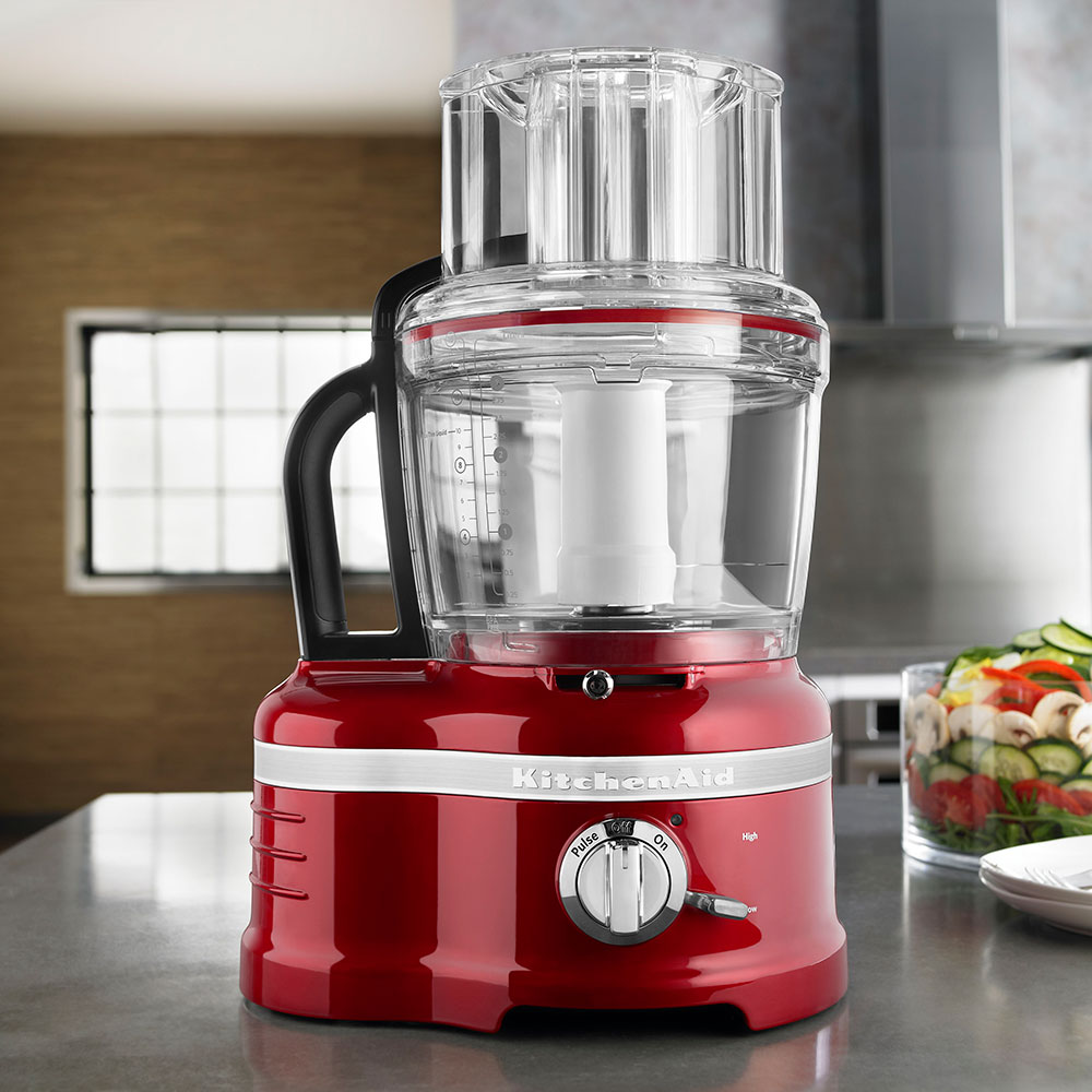 KitchenAid KFP1642CA Pro Line 2-Speed Food Processor w/ 16-Cup Capacity, Candy Apple Red