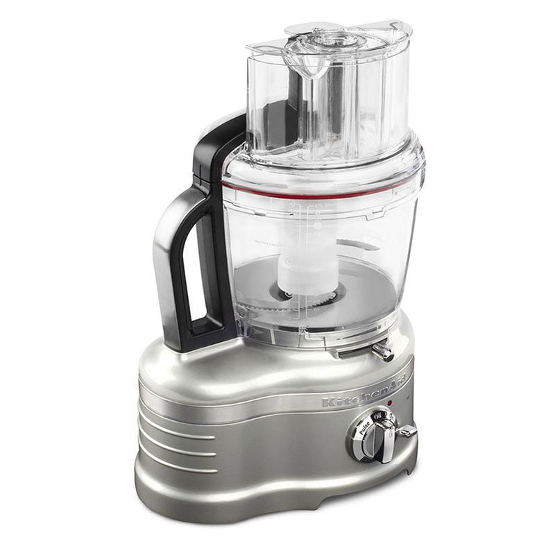 KitchenAid KFP1642SR Pro Line 2-Speed Food Processor w/ 16-Cup Capacity, Sugar Pearl Silver