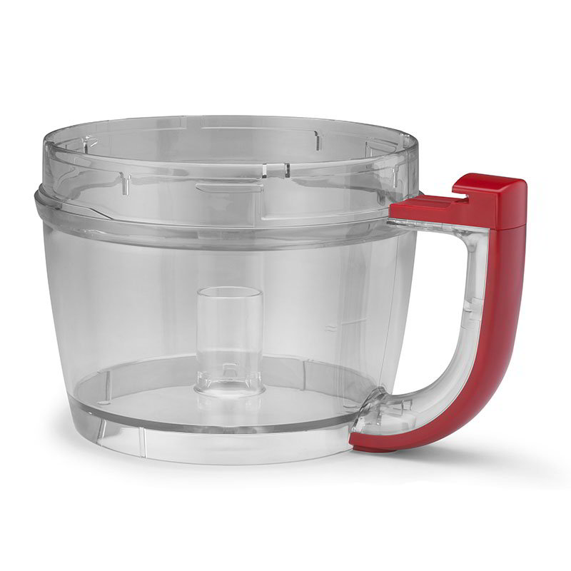 Kitchenaid KFP72WBER Additional or Replacement Work Bowl for 12 Cup Food Processor, Empire Red