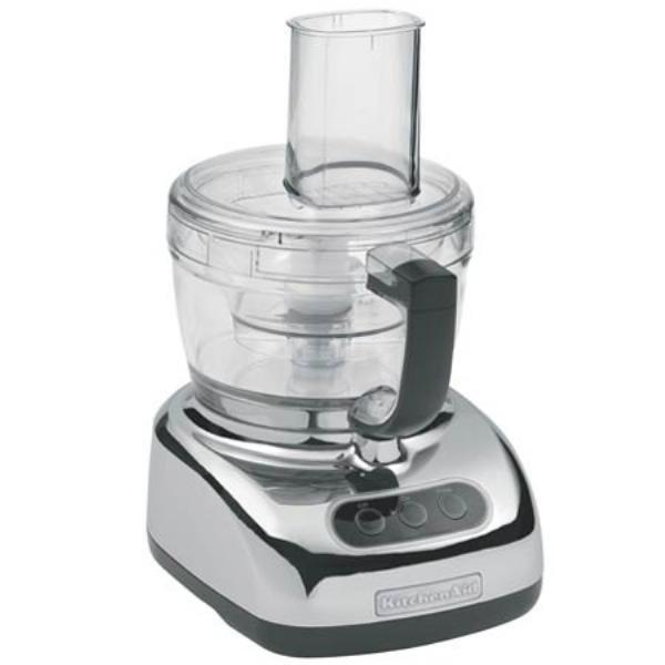 Kitchenaid kfp740cr food processor 9 cups 4 cup mini - Robot cuisine kitchenaid ...