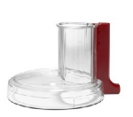 KitchenAid KFP7WWCER Work Bowl Cover w/ Wide Mouth, Empire Red