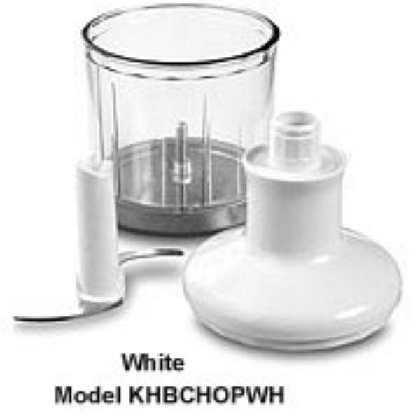 KitchenAid KHBCHOPWH Chop