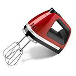 Kitchenaid KHM920CA 9-Speed Hand Mixer w/ Accessories, Candy Apple Red