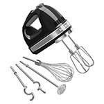 KitchenAid KHM926OB 9-Speed Hand Mixer w/ Exclusive Accessory Pack, Onyx Black