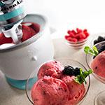 KitchenAid KICA0WH Ice Cream Maker Attachment for Most KitchenAid Models, White