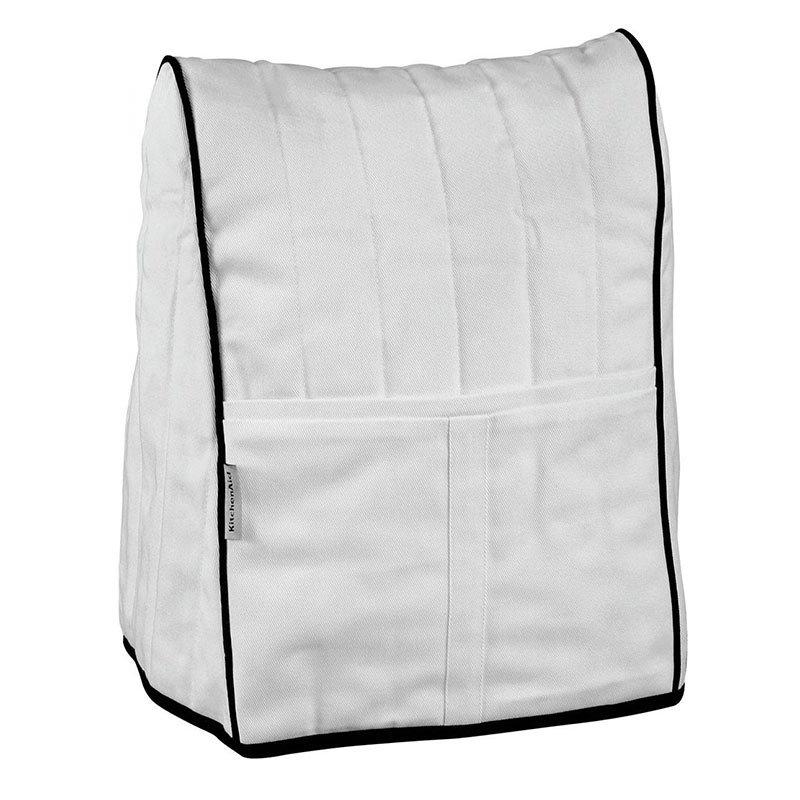 Kitchenaid KMCC1WH Countertop Appliance Or Mixer Cover, White