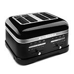 KitchenAid KMT4203OB Pro Line 4-Slice Automatic Toaster - Onyx Black
