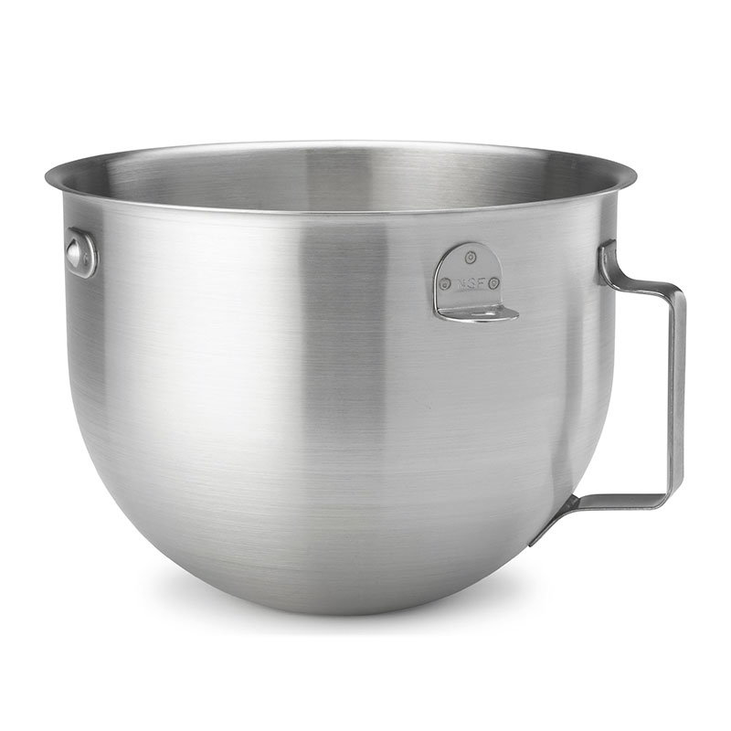 KitchenAid KN25NSF 5 Quart Brushed Bowl with Strap Handles