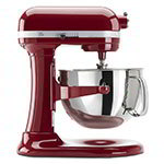 KitchenAid KP26M1XER 10-Speed Stand Mixer w/ 6-qt Stainless Bowl & Accessories, Empire Red