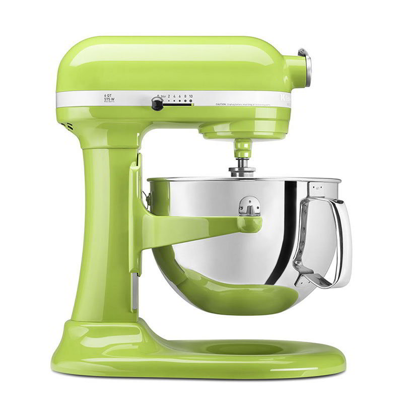 Kitchenaid KP26M1XGA Professional 600 Series Mixer With Pouring Shield, 6 Qt, Green Apple