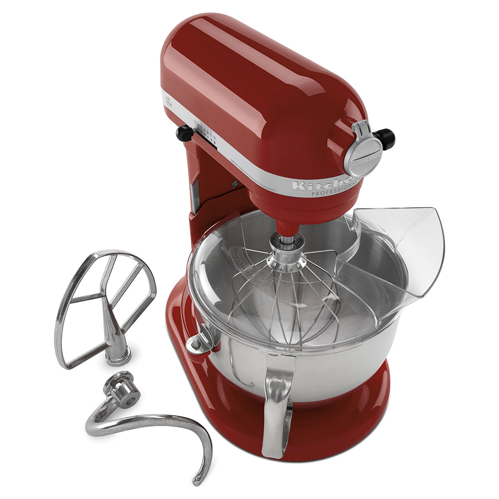 KitchenAid KP26M1XGC 10-Speed Stand Mixer w/ 6-qt Stainless Bowl & Accessories, Gloss Cinnamon