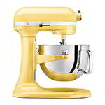 KitchenAid KP26M1XMY 10-Speed Stand Mixer w/ 6-qt Stainless Bowl & Accessories, Majestic Yellow