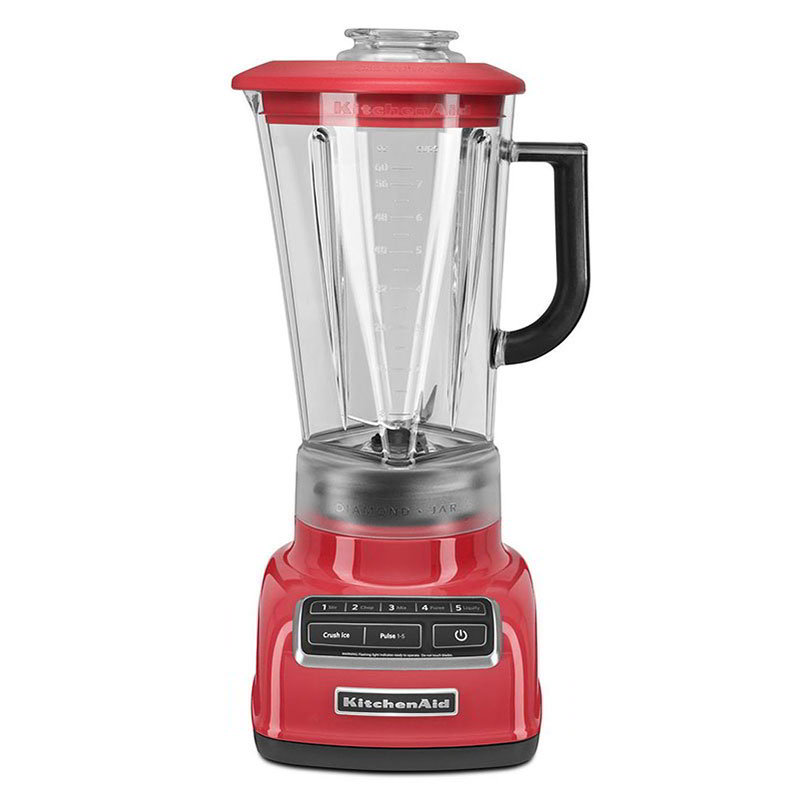 Kitchenaid KSB1575WM 5-Speed Blender w/ 60-oz Pitcher & Reinforced Coupler, Watermelon
