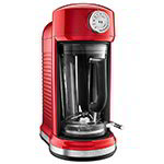 KitchenAid KSB5010CA Magnetic Drive Blender w/ 60-oz Pitcher, 4 Pre-Set Recipes, Candy Apple Red
