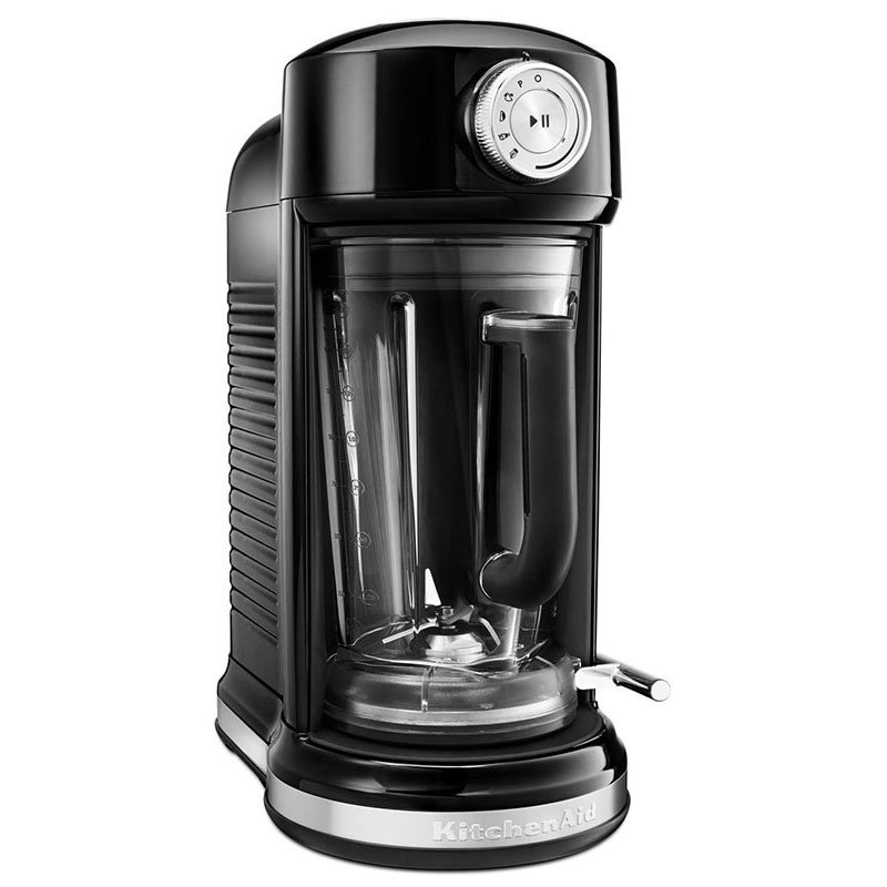 KitchenAid KSB5010OB Magnetic Drive Blender w/ 60-oz Pitcher, 4 Pre-Set Recipes, Onyx Black