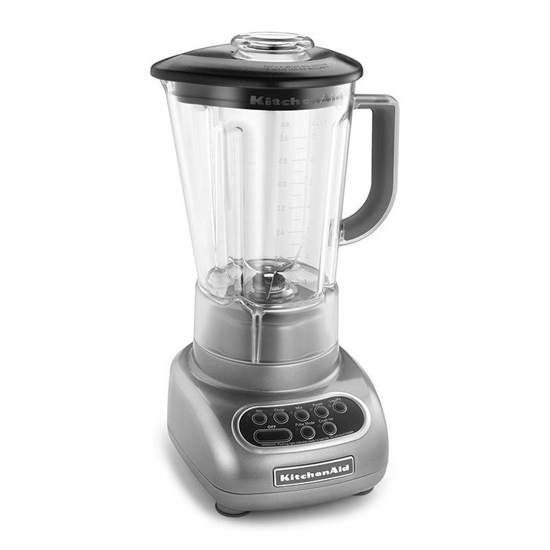 KitchenAid KSB56POB 56-oz Blender Pitcher, Shatter Resistant w/ Black Lid