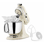 KitchenAid KSM150PSAC 10-Speed Stand Mixer w/ 5-qt Stainless Bowl & Accessories, Almond Cream