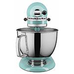 KitchenAid KSM150PSAQ 10 Speed Stand Mixer W/ 5 Qt Stainless Bowl U0026  Accessories, Aqua Sky