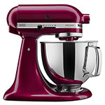 KitchenAid KSM150PSBX 10-Speed Stand Mixer w/ 5-qt Stainless Bowl & Accessories, Bordeaux