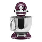KitchenAid KSM150PSBY 10-Speed Stand Mixer w/ 5-qt Stainless Bowl & Accessories, Boysenberry