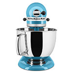 KitchenAid KSM150PSCL 10-Speed Stand Mixer w/ 5-qt Stainless Bowl & Accessories, Crystal Blue