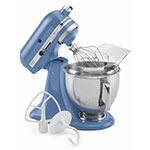 KitchenAid KSM150PSCO 10-Speed Stand Mixer w/ 5-qt Stainless Bowl & Accessories, Corn Flower